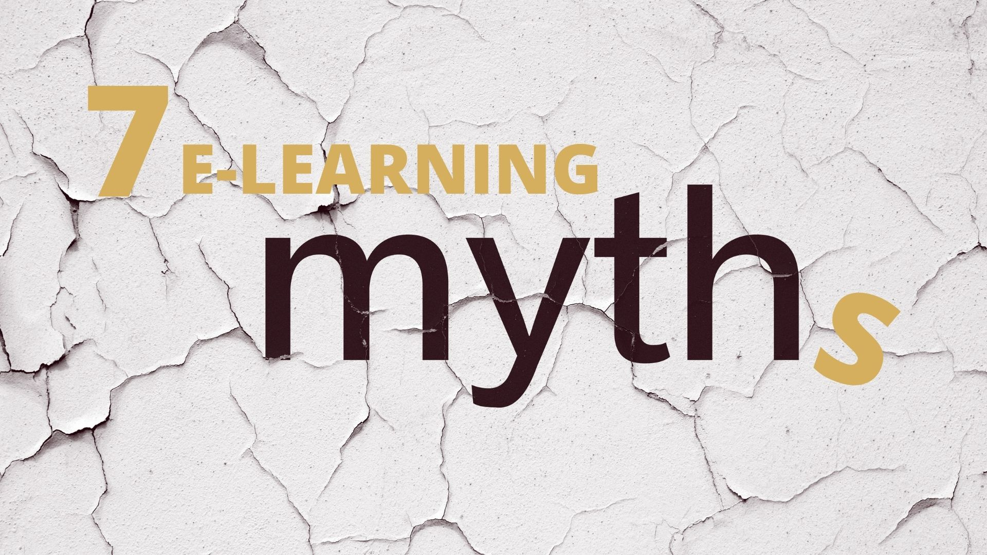 7 Myths About E-Learning